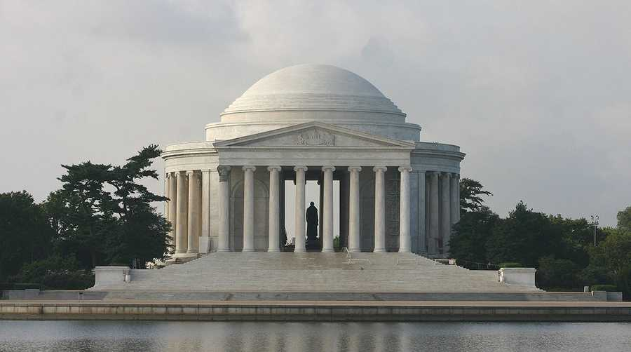 The Jefferson Memorial in Washington, D.C.