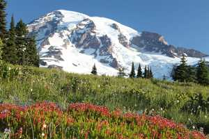 Don't let its picturesque quality fool you&#x3B; Mt. Rainier is considered one of the most dangerous volcanoes in the world.