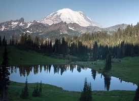 Mt. Rainier in Washington State.