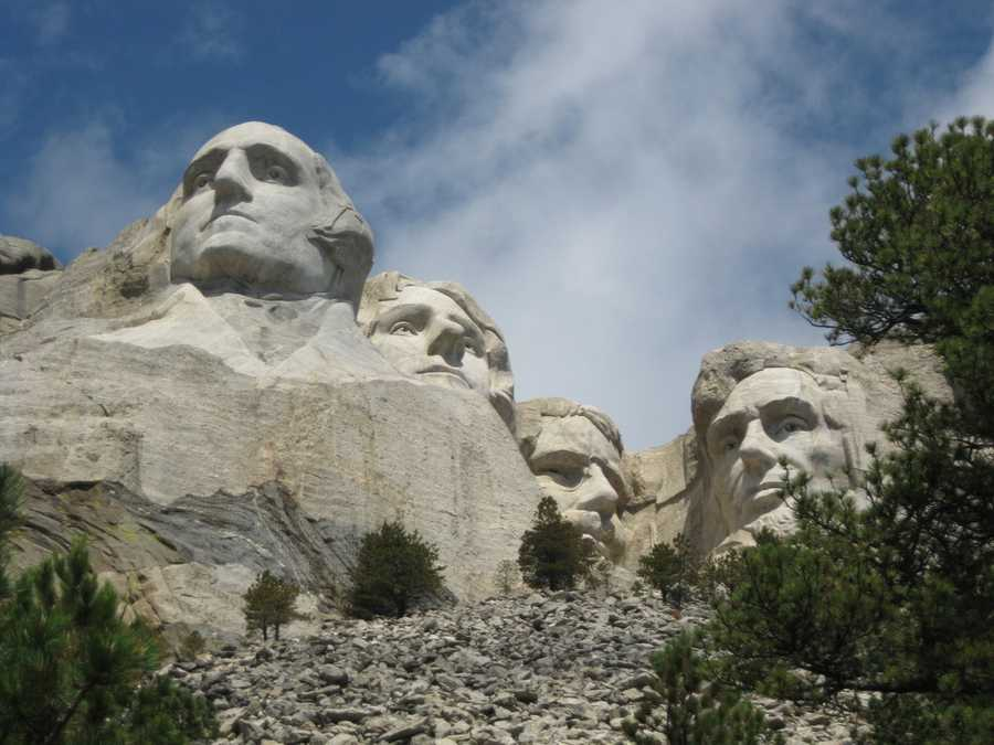 Mt. Rushmore near Keystone, S.D.