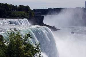 The falls are just one aspect of Niagara Falls State Park, America's oldest park. Did you know that 750,000 gallons of water pass over the falls every second?