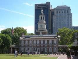 Independence Hall is more than 250 years old and was where the Declaration of Independence and the U.S. Constitution were debated and later confirmed.