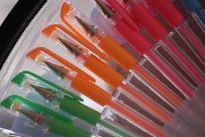 Gel pens. Available in nearly every color imaginable, teachers would still express their discontent for assignments submitted in lime-green.