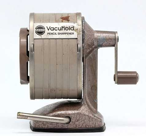 The Pencil Sharpener. This device always gave us a reason to walk across the classroom and make noise at any given time.