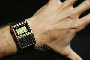 The calculator watch. This back-to-school piece was for the student that was always right and right on time.
