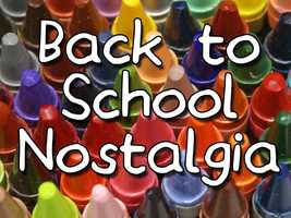 Back-to-School time is upon us! Check out these supplies you may have brought to school way back when...