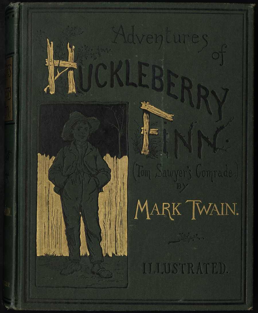 The Adventures of Huckleberry Finn, Mark Twain, 1884The American edition in 1885 was promptly banned by several libraries. The criticism was based in a perception of the books crudeness.  The book has since been challenged several more time through the years.