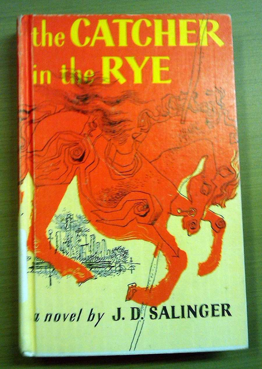 The Catcher in the Rye, J.D. Salinger, 1951This novel is included on Time's 2005 list of the 100 best English-language novels written since 1923, and named by Modern Library and its readers as one of the 100 best English-language novels of the 20th century. It has also frequently been challenged in the United States and other countries for its liberal use of profanity and portrayal of sexuality.
