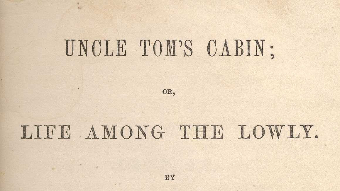 the fugitive slave law and the book life among the lowly by harriet beecher stowe were two causes of Born in 1811, harriet beecher stowe was an american abolitionist and author of the highly influential book, uncle tom's cabin the book catalyzed anti-slavery movements in the north, igniting.