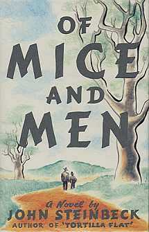 "Of Mice and Men,  John Steinbeck, 1937The novel appears on the American Library Association's ""100 Most Frequently Challenged Books of 1990-2000. Most of the complaints have to do with the ""offensive"" and ""obscene language."