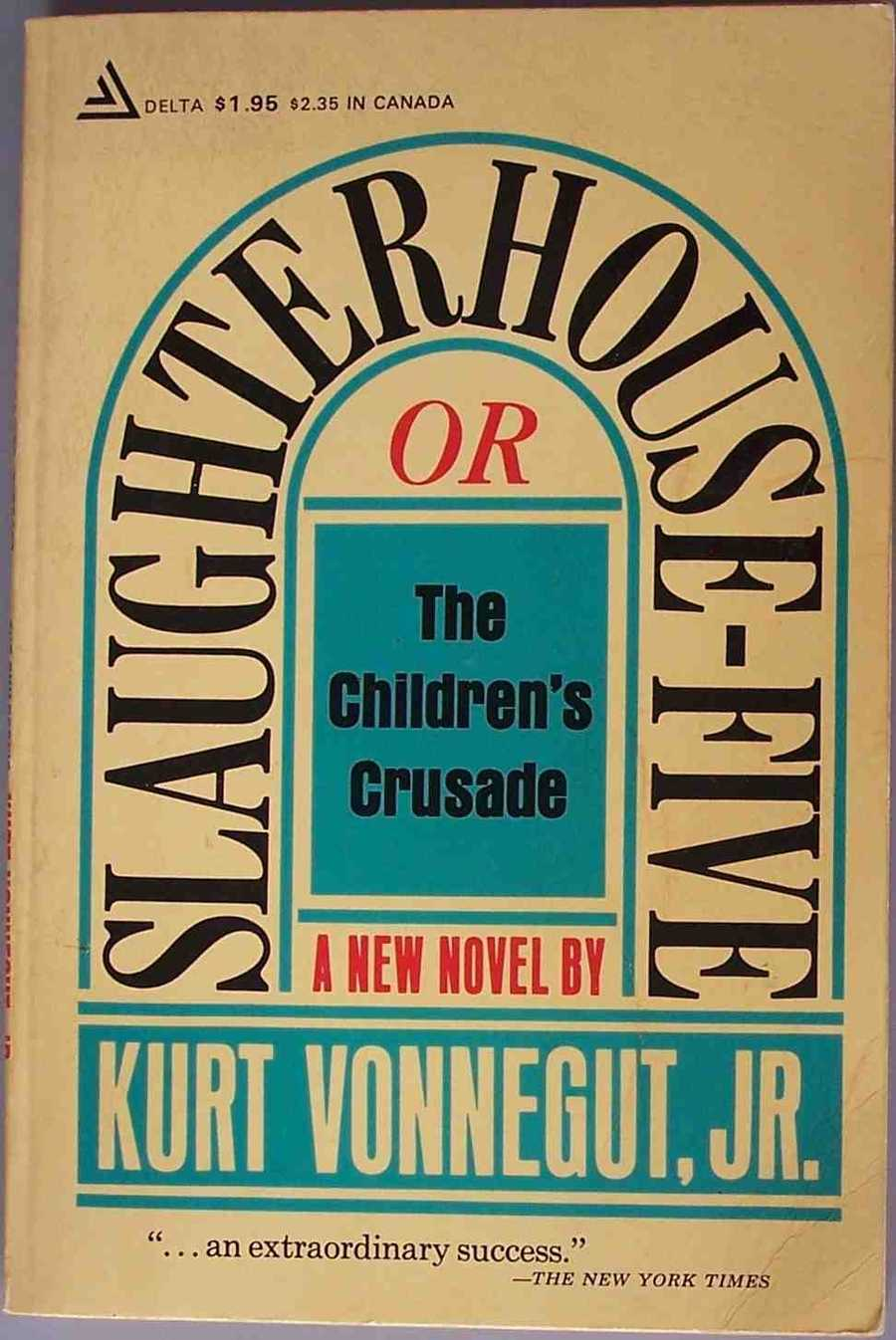 Slaughterhouse-Five, Kurt Vonnegut, 1969Slaughterhouse-Five is the sixty-seventh entry to the American Library Association's list of the 100 Most Frequently Challenged Books of 1990–1999. The subject of many attempts at censorship, due to its irreverent tone and purportedly obscene content, a circuit judge banned it in 1972.  The ban has since been reversed.