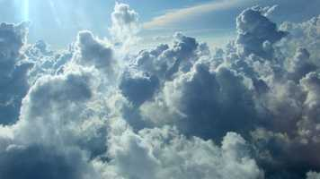 Nephophobia is the fear of clouds.