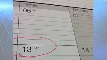 Paraskavedekatriaphobia is the fear of Friday the 13th.