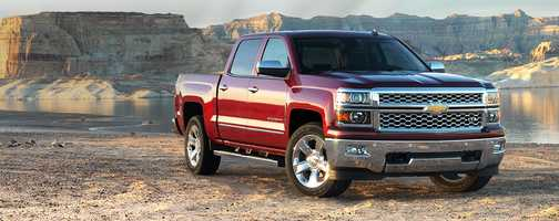 4. Chevrolet pickup (full-size) - 23,745 stolen