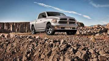 7. Dodge pickup (full-size) - 11,755 stolen