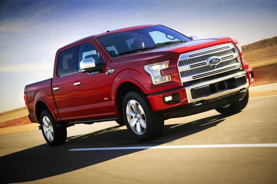 3.Ford pickup (full-size) - 26,770 stolen