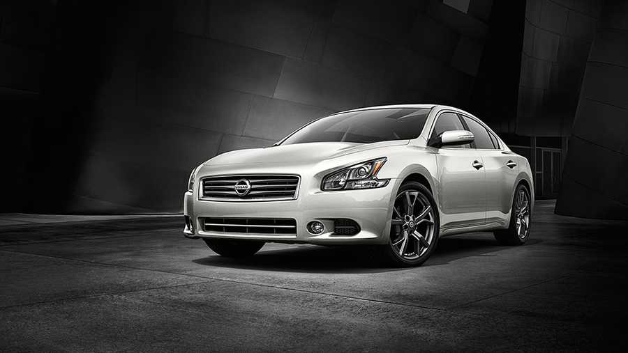 TheNational Insurance Crime Bureau reportsan estimated 698,000 cars were stolen in in 2013. The following were the most-stolen cars in 2012, the most recent year for which data are available. At No. 10, the Nissan Maxima - 6.947 stolen
