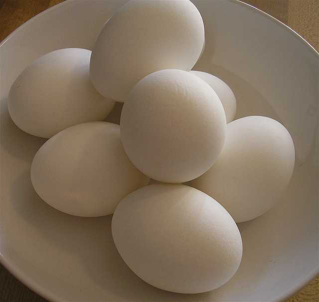 7. Boiled eggs make a great snack, add one teaspoon of baking soda when boiling and the shell will come off effortlessly.