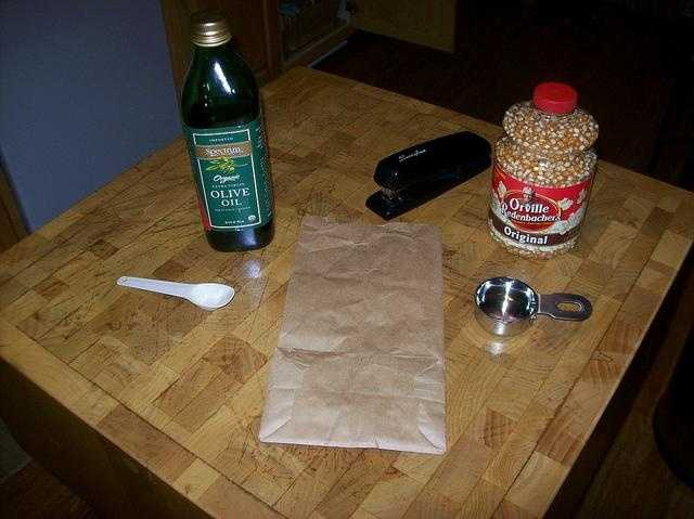 22. Make your own microwave popcorn. It's healthier and cheaper than pre-packaged!