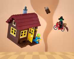 KansasThere's no place like home, but if your house is frequently blown aloft, it helps to wear a parachute indoors.