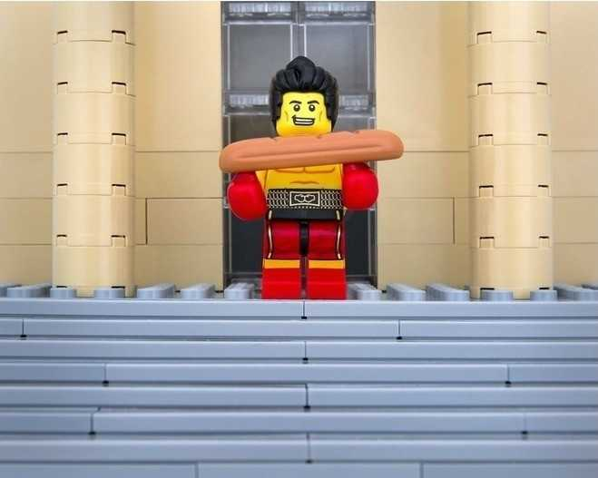 PennsylvaniaThe heavyweight cheesesteak champion is also a patron of fine arts museum stairways. *A note to Pittsburgh, you are featured in the upcoming 50 States of LEGO book.