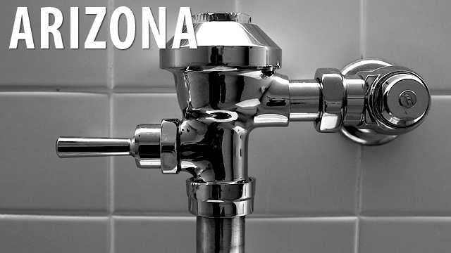 Arizona:Mine workers throughout the state are not allowed to write crude or obscene messages in toilet stalls for other patrons to see. (Source: Distractify)