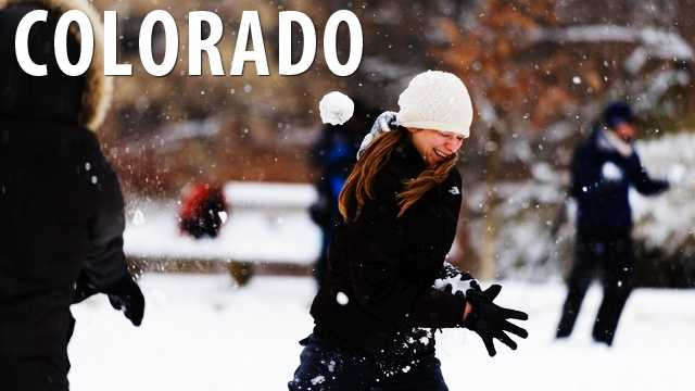 Colorado:Don't even think about starting a snowball fight. In Aspen it is illegal to start or participate in a snowball fight. (Source: Distractify)