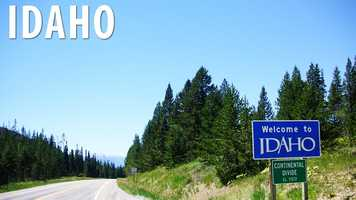 """Idaho:Not surprisingly, cannibalism is punishable by up to 14 years in prison, however, it is ok to """"willfully ingest the flesh or blood of a human being"""" if it's a life-or-death situation. (Source: Business Insider)"""