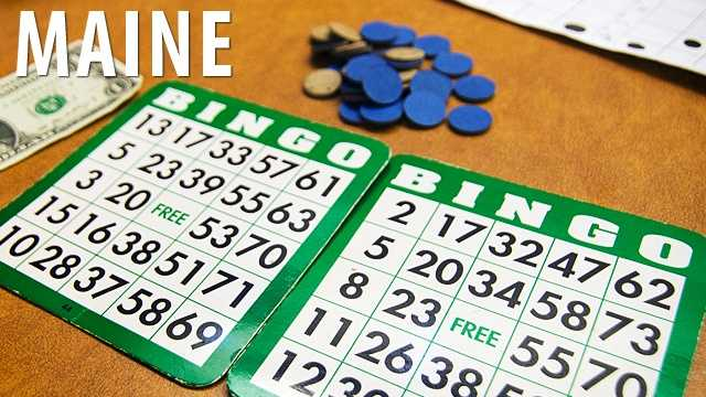 Maine:If you're playing the original version of Bingo, called Beano, it is legally regulated in the state of Maine that someone may play your cards for you while the original player is taking a restroom break. Better plan those breaks accordingly. (Source: Business Insider)