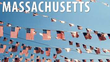 "Massachusetts:When in Massachusetts the ""Star Spangled Banner"" may only be played as a whole and separate composition, or you will be subject to a fine of no more than $100. (Source: Business Insider)"