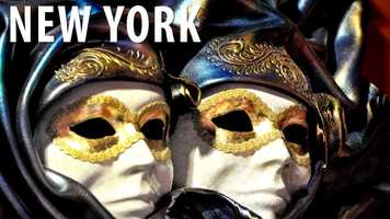 New York:It is against the law for three or more people to gather in a public place for a demonstration or march while they are wearing masks. (Source: Business Insider)