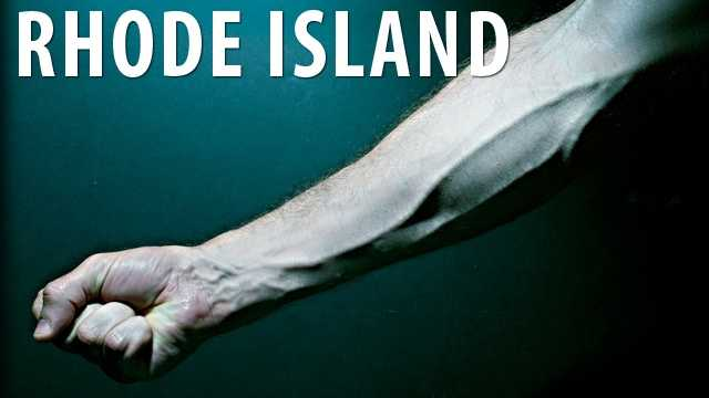 Rhode Island:If you are in Rhode Island and intentionally bite or cut off someone else's limb you will have to face no more than 20 years in prison. (Source: Business Insider)