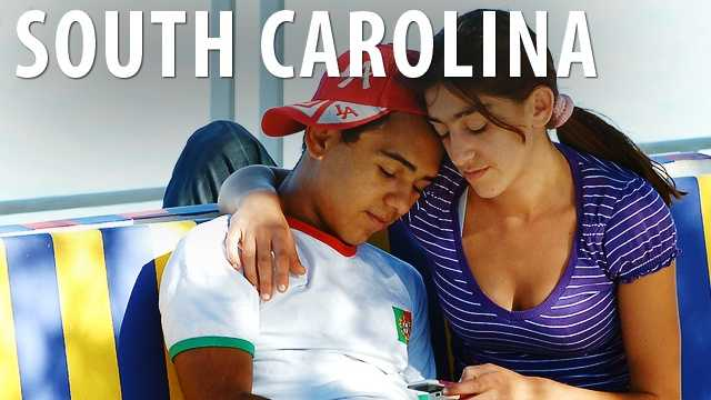 South Carolina:A male who is over the age of 16 may not seduce a woman by falsely promising to marry her. If the male is found guilty of this, he will be charged with a misdemeanor, fined, and imprisoned for no longer than a year. (Source: Business Insider)