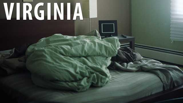 Virginia:Pre-marital sex is completely banned in the state of Virginia and is considered a Class 4 misdemeanor. (Source: Business Insider)
