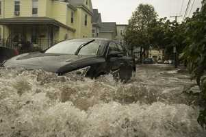 Myth: It is safe to drive your car through floodwater.