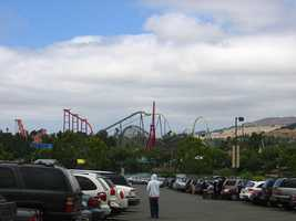 You have no idea how much time amusement park employees spend helping guests locate their cars when they are trying to leave.