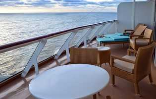 Balconies are overratedRooms that have their own balcony typically cost at least 25% more than an inside cabin. Although the allure of having a private balcony is a nice idea, between off-boat trips and on-boat activities you will not be spending much time in your room. Skip the balcony and save your money for something else.