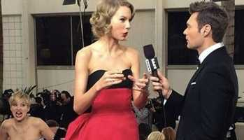 Jennifer Lawrence to Taylor SwiftJLaw is practically the photobomb queen!