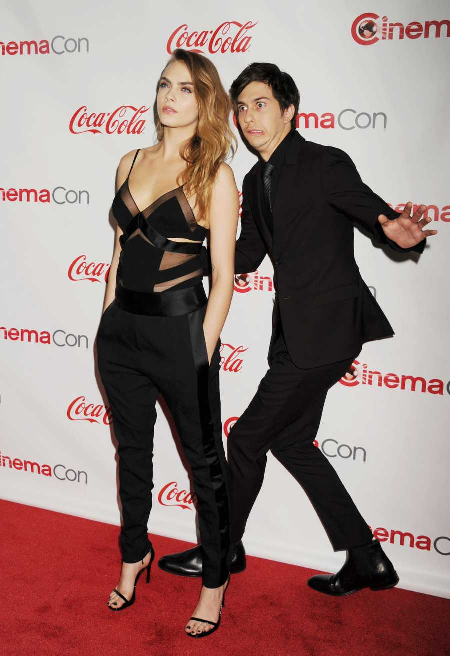 Nat Wolff to Cara DelevingneNat turned the tables on Cara and it was SWEET!