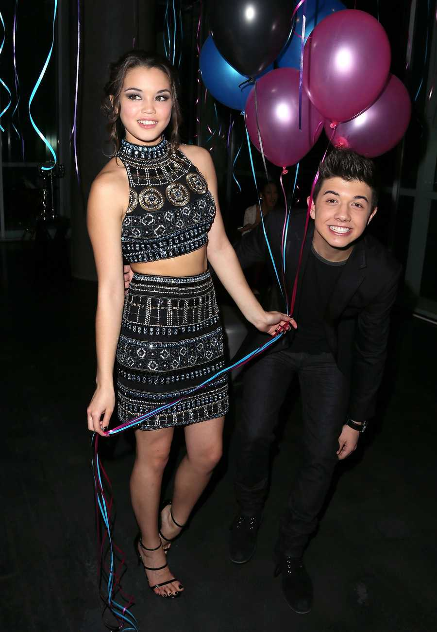 Bradley Steven Perry to Paris BelcBradley popped out of absolutely nowhere in this priceless pic!