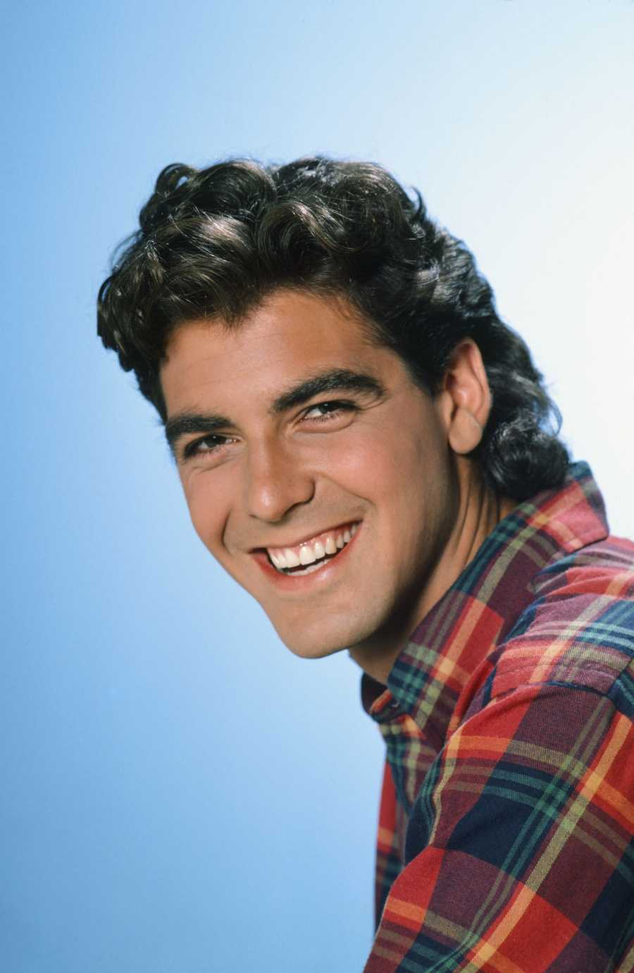 THEN: George ClooneyThis handsome fellow got his start on Riptide on 1984, but his role as friendly (and hunky) neighbor George Burnett on The Facts of Life helped kickstart his career in 1985.