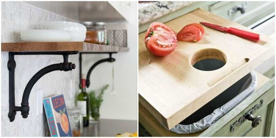 10 Sneaky ways to instantly gain extra counter spaceRelated content:9 Lies you tell yourself about cleaning13 Amazing Ikea furniture makeoversThe secret to losing weight without even trying