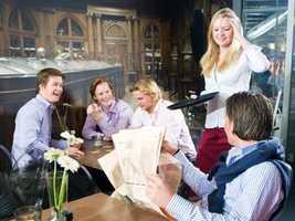 7. Hosts and hostesses