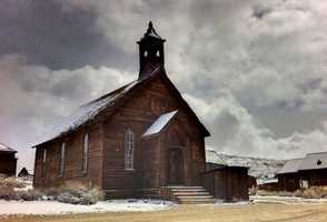 Located in California, Bodie State Historic Park is one of the several gold-mining ghost towns in the west.
