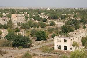 The city of Azerbaijan was once populated with 150,000 people, but was lost in 1993 during the Nagorno Karabakh war.