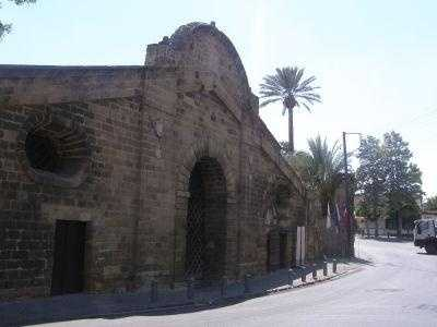Famagusta, a settlement in Cyprus, was the modern tourist area until the Turkish invasion in 1974.