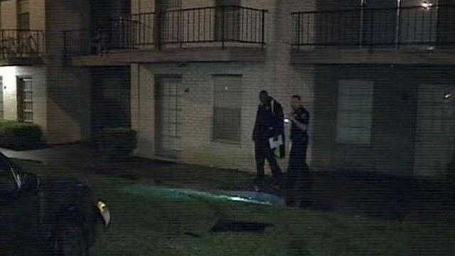 Jackson police say two people, including a two-year-old were shot early Wednesday morning at the Timber Ridge Apartments.