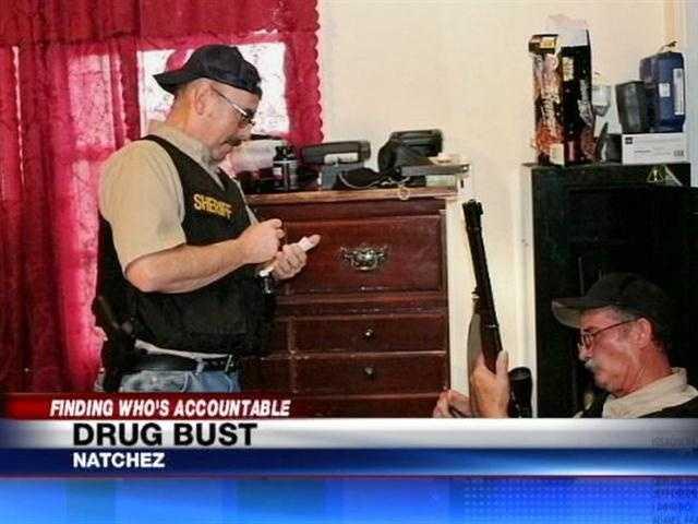 Deputies say they seized 17 firearms.