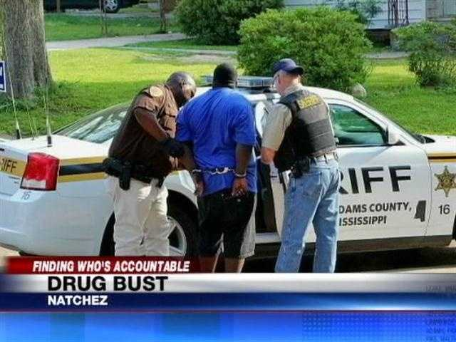 Deputies arrested Louis Johnson, who they say is part of the Black Gangster Disciples street gang.