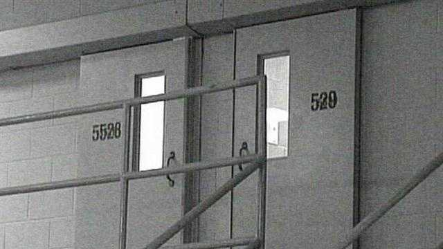 Hinds County Detention Center jail doors